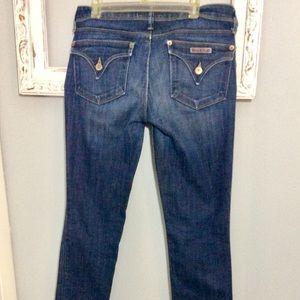 Hudson Jeans Straight Leg Dark Wash Sz 26